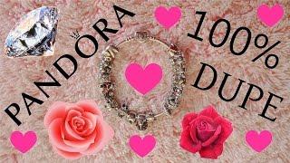What's on my dupe PANDORA bracelet? Il mio bracciale simil PANDORA
