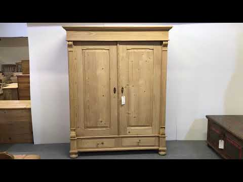 Old English Wooden Steamer Trunk - Pinefinders Old Pine Funiture Warehouse from YouTube · Duration:  1 minutes 13 seconds