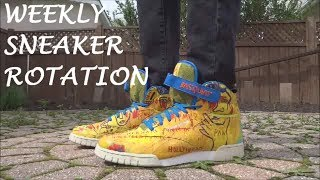 WEEKLY SNEAKER ROTATION #5