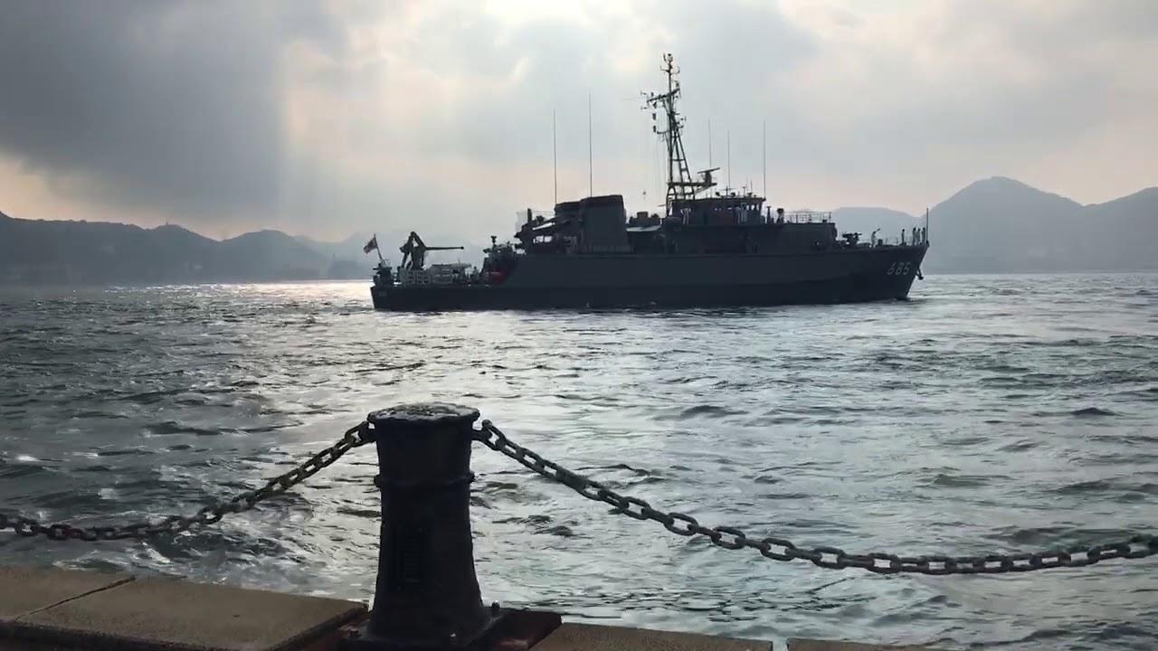第43掃海隊 掃海艇とよしま出港 ...