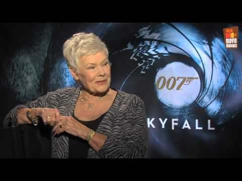 "Skyfall James Bond 007 | Judi Dench ""M"" interview (2012) & Gewinnspiel"