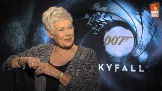 """Skyfall James Bond 007   Judi Dench """"M"""" interview (2012) & Gewinnspiel"""