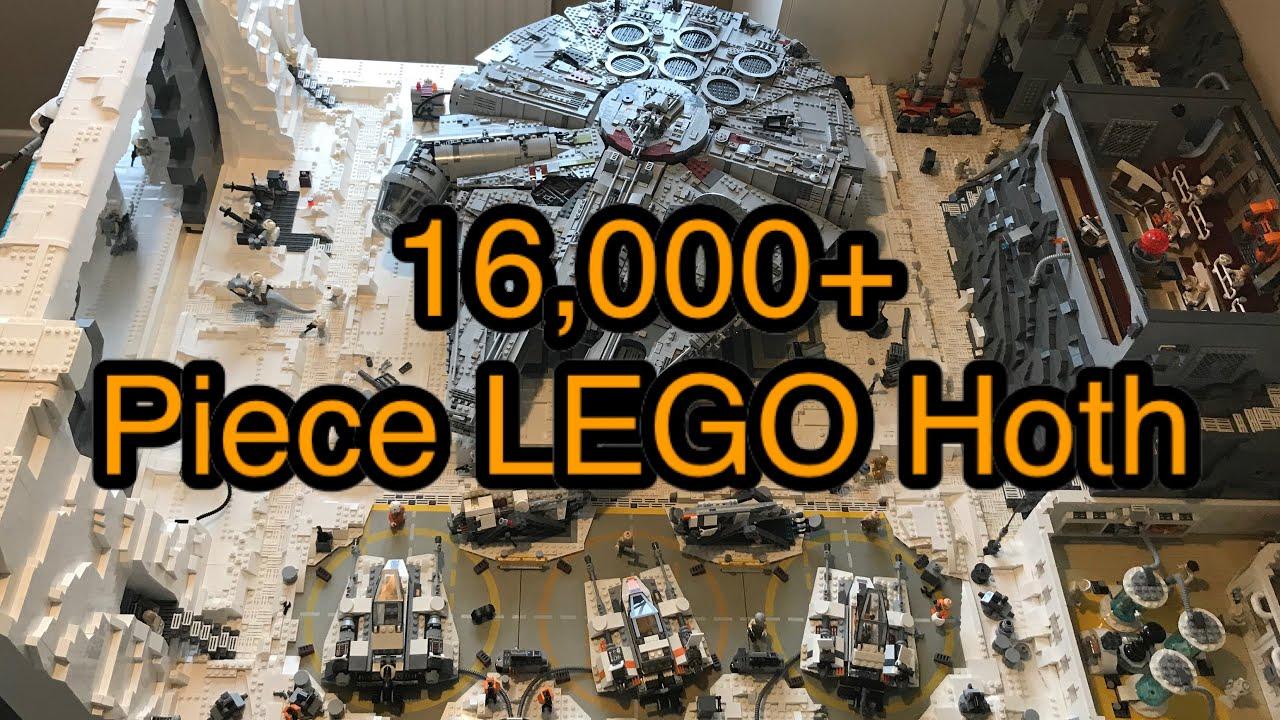 LEGO Star Wars Hoth MOC | UCS Scale Hoth Base
