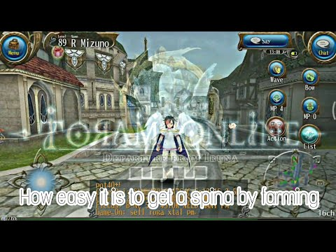 TORAM ONLINE - [Trick] How to farming spina fast!!! #GUIDE