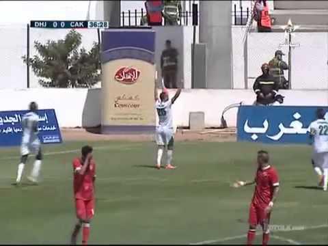 ملخص مباراة الدفاع الحسني الجديدي و نادي شباب أطلس خنيفرا