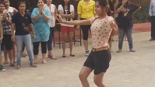 College Students Dance at IIT Bombay for Prabhu Deva's Mukabala Song