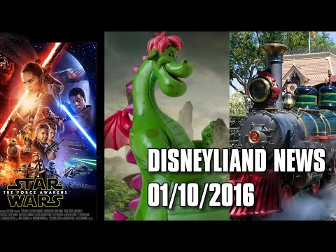 Disney News - Box Office Records, Films of 2016, and Confirmed Rumors - 01/08/16