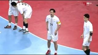 ハンドボール アジア選手権 日本vsオマーン 前半