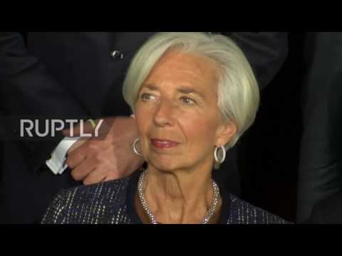 Germany: G20 finance ministers meeting begins in Baden-Baden