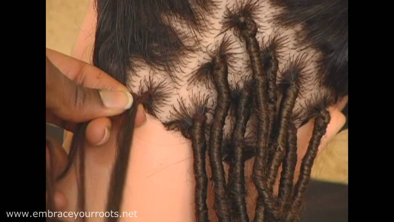 Dreadlock Extensions With Yarn Embraceyourroots Youtube