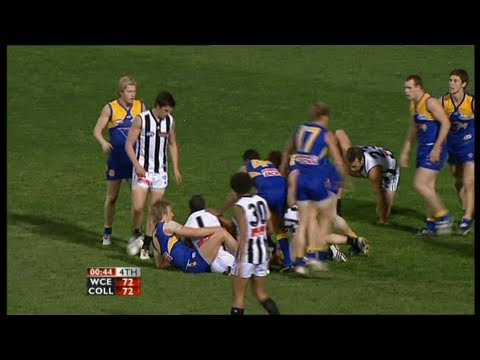 AFL 2007 Semi Final West Coast Vs Collingwood