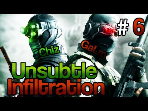 [6] Unsubtle Infiltration (Splinter Cell: Conviction Coop w/ GaLm and Chiz)