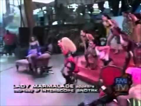 Christina Aguilera ft Missy Elliott - Lady Marmalade (LIVE)