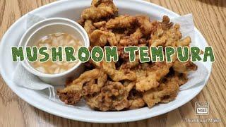 Mushroom Tempura ❣ Vegetarian Recipes