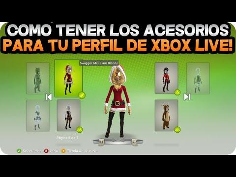 Accesorios Gratis Para Avatar Xbox Live Funnycat Tv