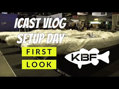 ICAST DAY 1 VLOG | On Water, New Products and First Looks