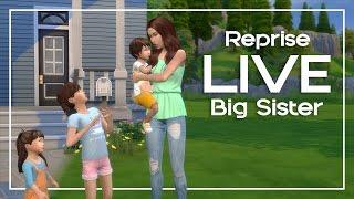 REPRISE LIVE   Desafio Big Sister #1   The Sims 4