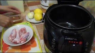 Вкусные видео рецепты -  курица с айвой в мультиварке