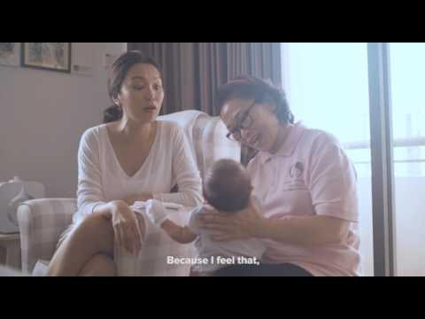 Joanne Peh sharing her confinement experienced.: There is no perfect confinement nanny. I feel that Nanny Hui Ting really have our whole family at heart and this is the most important thing to me.  https://confinementangels.com.sg/