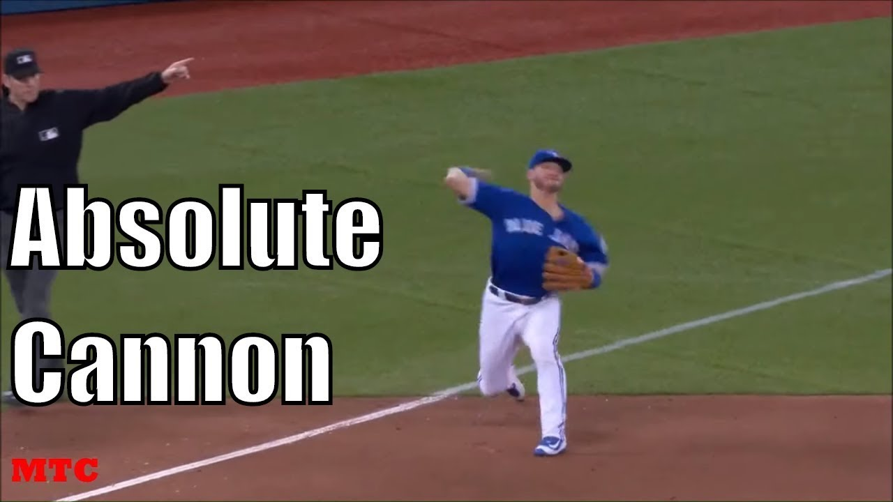 Josh Donaldson Showing Off His Arm