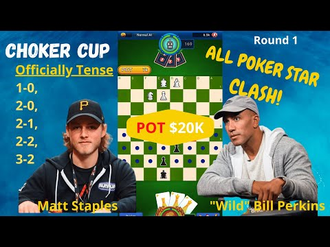 "Choker Cup Clash - ""Wild"" Bill Perkins v Matt Staples - Who bounces from 2-0 down to win 3-2? from YouTube · Duration:  1 hour 6 minutes 23 seconds"