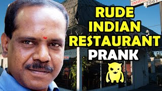 Rude Indian Restaurant Prank - Ownage Pranks