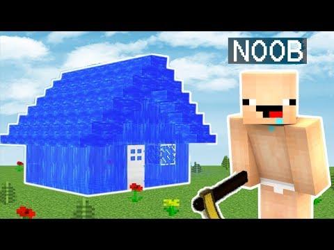 NOOB VS SUDAN EV (YENİ SESİM)😂 MİNECRAFT TROLL #1