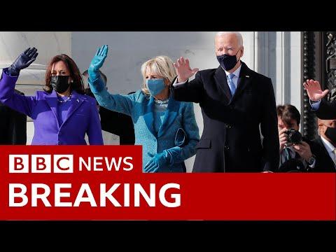 Joe Biden arrives at Capitol - BBC News