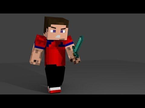 Cara Merender Skin Minecraft Dengan Blender 3D
