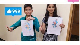 Drawing challenge SIS VS BRO INDIA