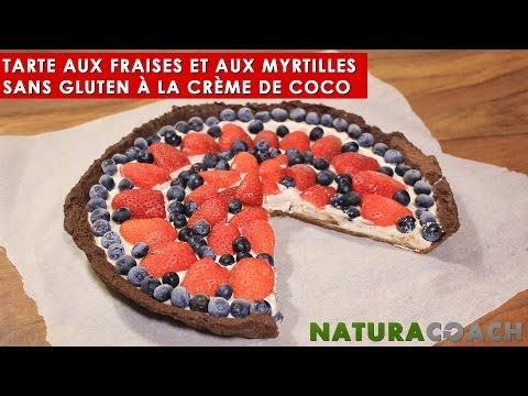 tarte-aux-fraises-sans-gluten-à-la-crème-de-coco