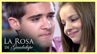 La Rosa de Guadalupe: Hanna y Rafa se enamoran a través de internet   Ciber-amor