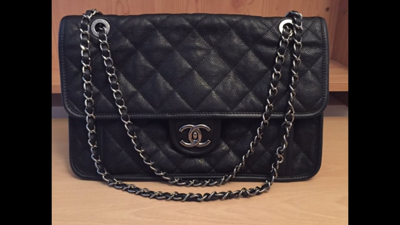 bcfa8da1d305 CHANEL French Riviera Flap Bag - YouTube