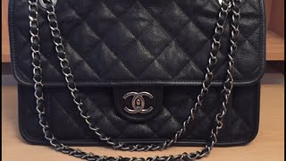 CHANEL French Riviera Flap Bag