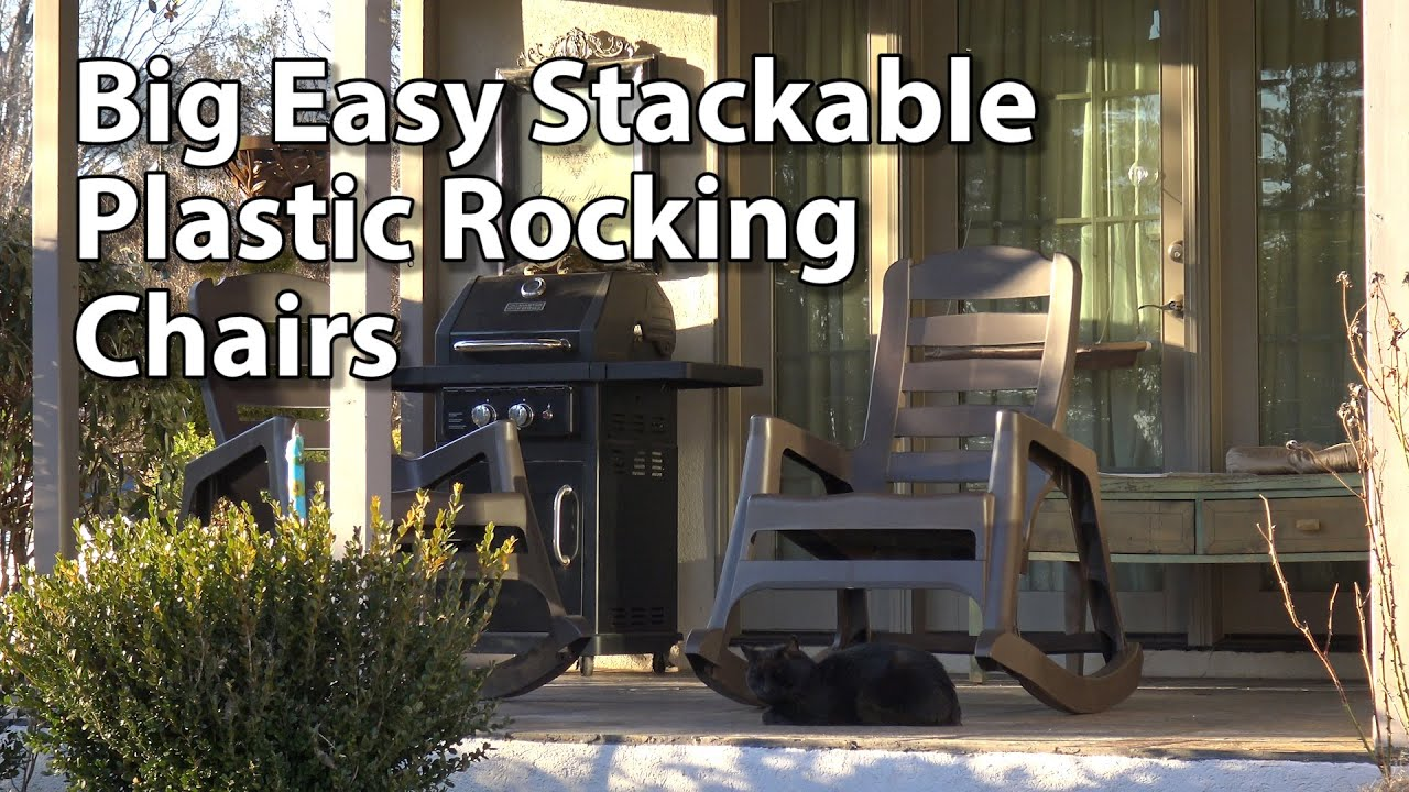 Easy Stackable Rocking Chair Review