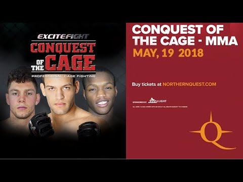 Conquest of the Cage May 19, 2018 (FULL EVENT)
