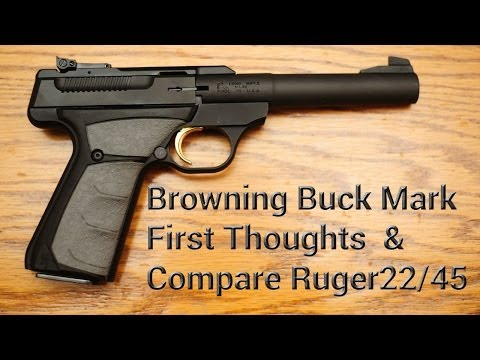 Review: Browning Buck Mark Camper UFX