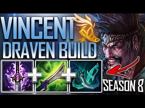 VINCENT DRAVEN RUNES & BUILD [TYLER1 BUILD] SEASON 8 - Proxy Beats - League of Legends