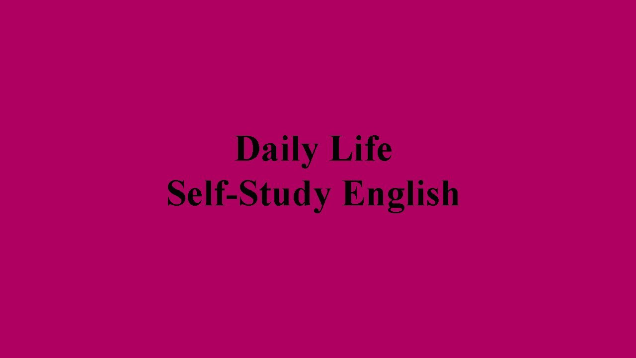 daily life english conversation pdf