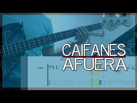 Afuera – Caifanes (cover de bajo + tablatura)