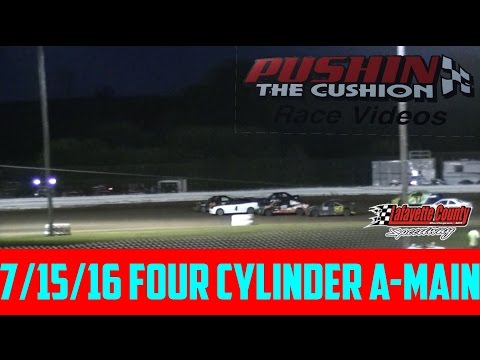 Lafayette County Speedway 7/15/16 Four Cylinder Feature