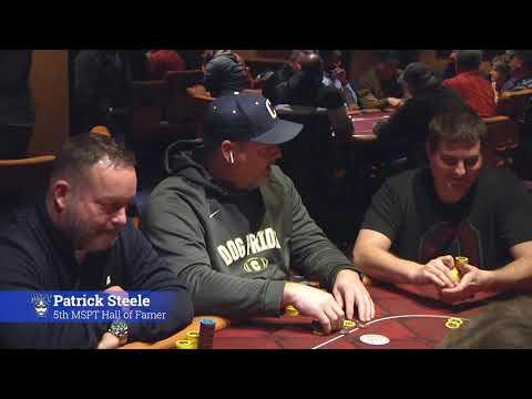 MSPT Cleveland Poker Open - Day 2 Winding Down, Pat Steele MSPT HOF