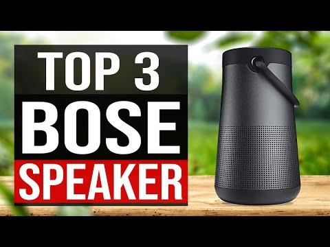 TOP 3: Best Bose Speaker 2020