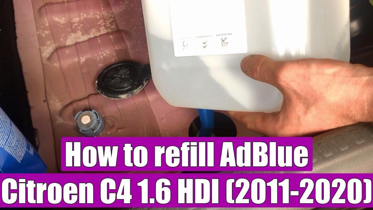 Adblue Tank p1001539 urea RIFTER BERLINGO IV BLUEHDI