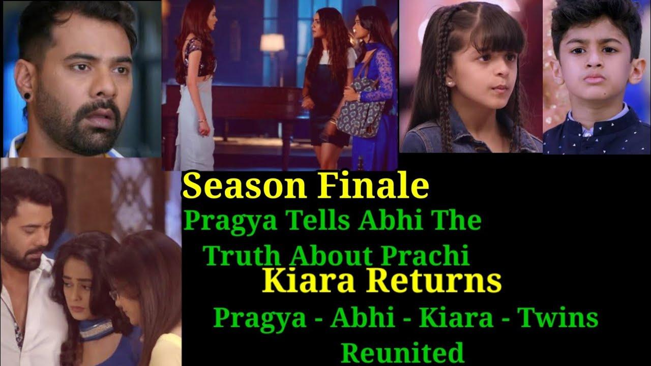 Download How Twist Of Fate Season Will End   Kiara Will Return   What Will Happen To Pragya - Abhi