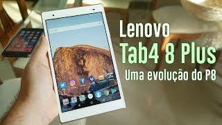Lenovo Tab4 8 Plus: Uma evolução do já ótimo Lenovo P8 (Análise)