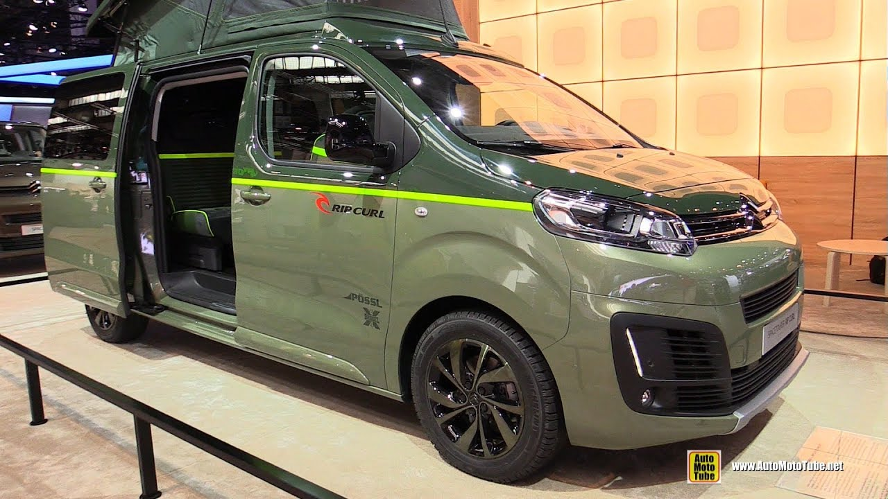 2018 citroen spacetourer rip curl concept walkaround 2017 frankfurt auto show youtube. Black Bedroom Furniture Sets. Home Design Ideas