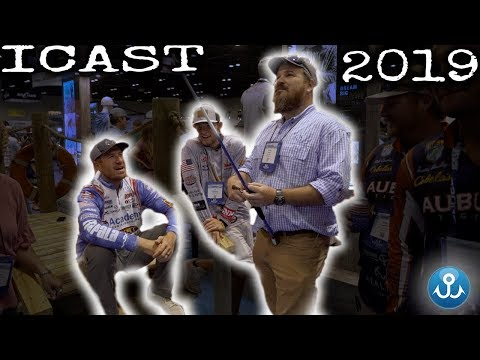 I've always wanted to do this... $100 Bill fishing! iCast 2019