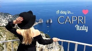 TRAVEL DIARY: CAPRI, ITALY