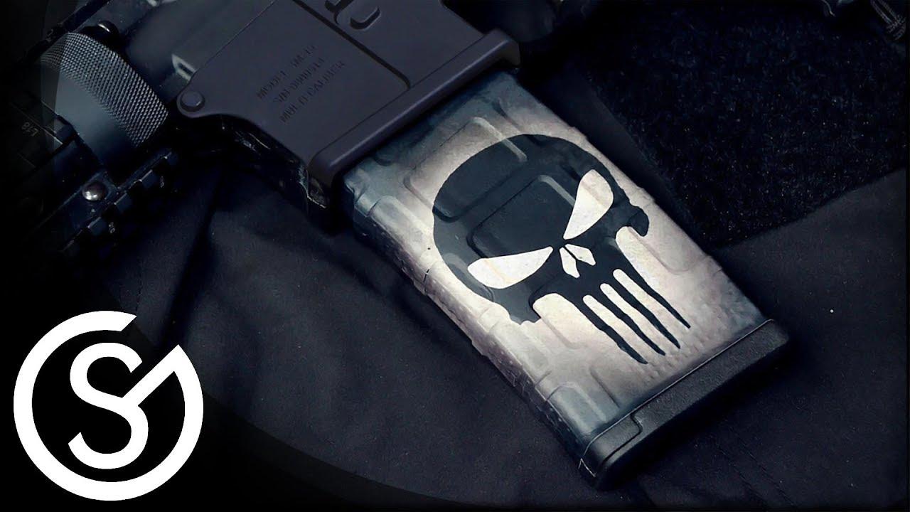 Gunskins Ar 15 M4 Mag Skin Diy Install Tutorial Youtube